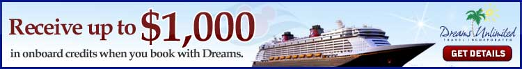 Discount Disney Cruise Line Specials