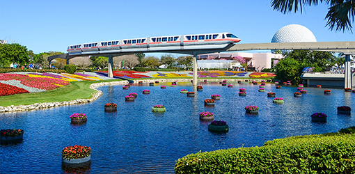 Epcot's International Flower & Garden Festival