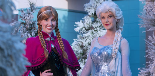 Frozen Takes Over Hollywood Studios!