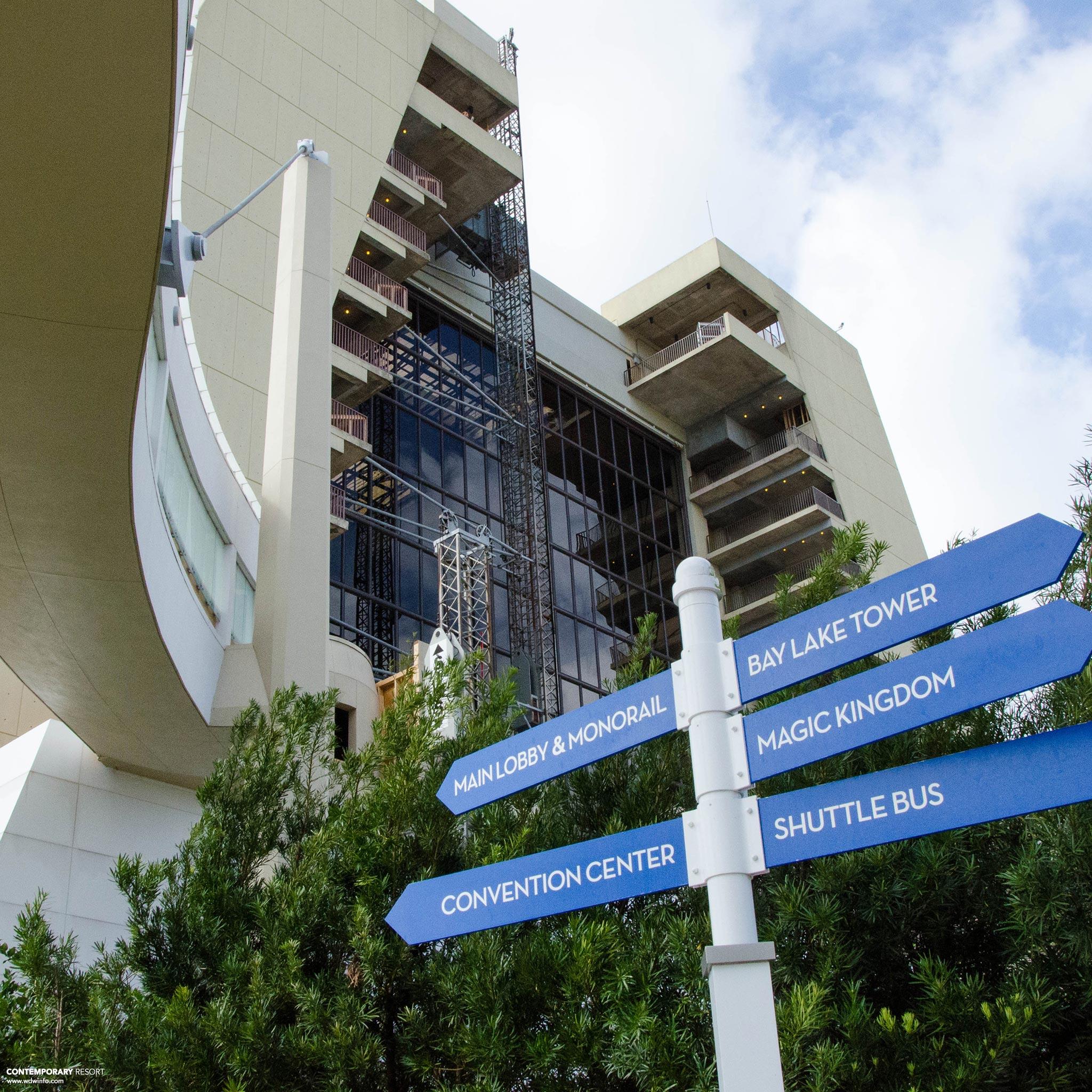 7in7 Disney S Contemporary Resort Dis Blog